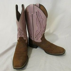 Justin Boots Women's 5D Cowgirl Square Toe Western